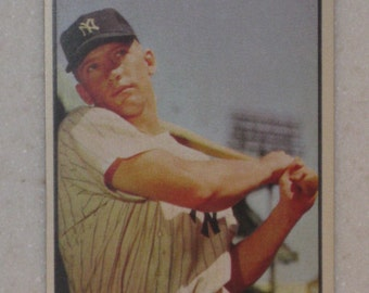 1953 Bowman Mickey Mantle #59