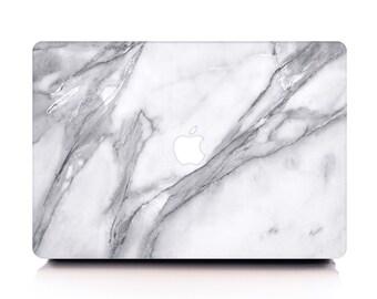 Volakas White Marble MacBook Case, MacBook Hard Case, MacBook Air Protection, MacBook Pro 2016 Touch Bar Case, MacBook Pro Retina Hard Case
