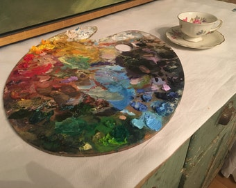 One of a Kind Master painter Palette