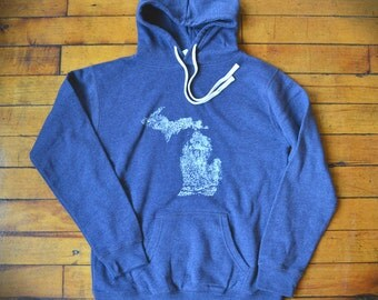 Michigan Made Sweatshirt (Blue)
