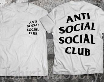 Anti Social Social Club T-Shirt, Many options color