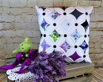 Decorative Cathedral Window Pillow