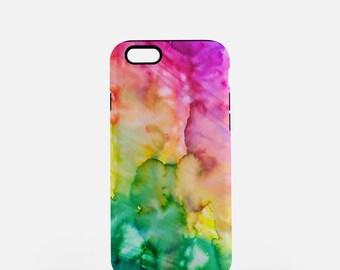 Rainbow Tough iPhone or Samsung Galaxy Case, Tough Phone Case, Durable Phone Case, Protective Case, iPhone Case, Samsung Case