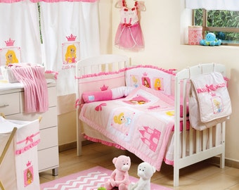 Little Princess 4 Piece Bedding Set
