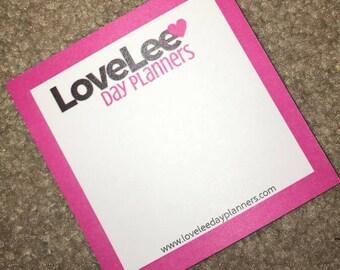 LoveLee Day Planner Sticky Notes