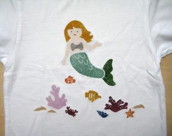 T shirt Mermaid 56-104