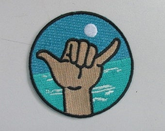 Hang Loose iron on patch