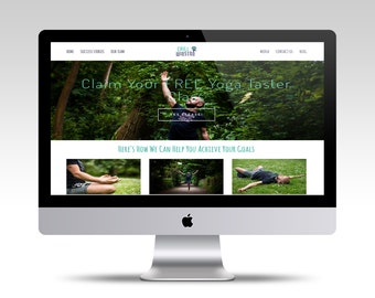 Custom Squarespace Website, Custom Website, Website Design