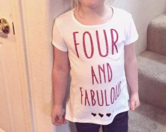 Glitter Four and Fab T-Shirt