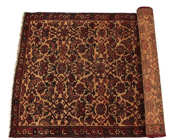 Original Persian Birjand Carpet Hand Knotted Circa 1950