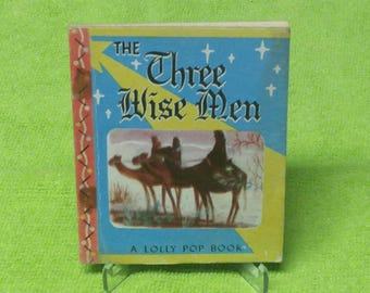 1949 Lolly Pop Book The Three Wise Men. Beauty. RARE 60% OFF