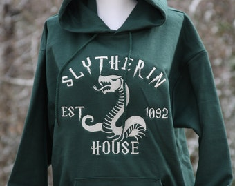 Slytherin Hoodie, Harry Potter Inspired Hoodie, Slytherin House