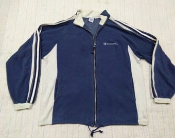 vintage CHAMPION ORODUCT sweater colour block size L