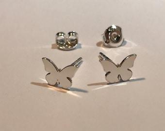 Butterfly earrings 925 sterling silver