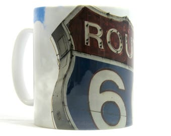 Route 66 Mug, Route 66 Gift, Route 66 Present, The Mother Road Mug