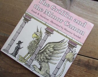 Children's Book Maurice Sendak The Griffin and The Minor Canon