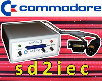 SD2IEC SD Card Reader for Commodore 64 / 128 / VIC ,1541 Disk Drive Emulator C64