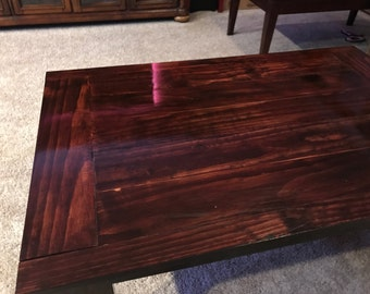 Concealed Secret Compartment Coffee Table