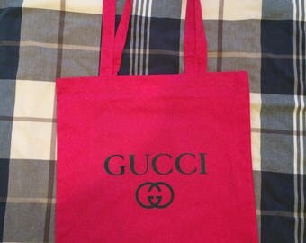 Hot pink tote shopping casual bag