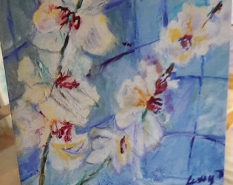 fine art orchid painting