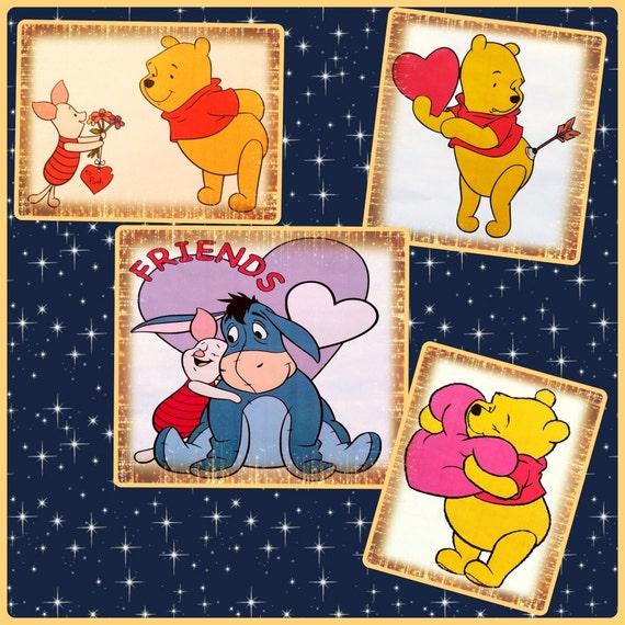 Winnie Pooh Piglet Eeyore Svg Png Files Winnie Pooh