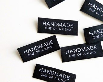 "Handmade Label: ""Handmade One of a Kind"" (20pcs)"