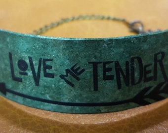 Love Me Tender Metal Bracelet