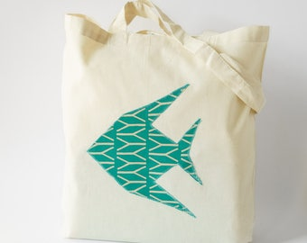 SAKANA TOTEBAG/ 100% cotton bag / Tote bag