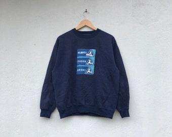 PLENTY TOUGH SPORT skate vintage sweatshirt