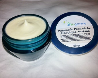 Ointment for Dry Skin is Very Dry, Atopic Eczema Trend 1.76 oz / Pommade pour la Peau Sèche a très sèche, tendance à l'eczéma atopique 50 gr