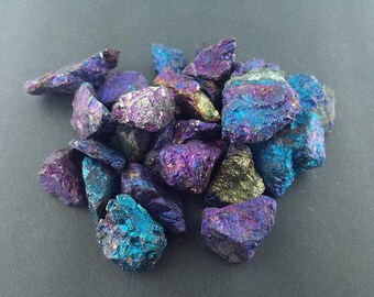 CHALCOPYRITE Lots Peacock Ore Multi-Color Mineral