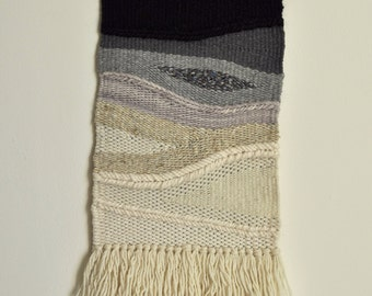 Good Ombre Silk + Wool Woven Wall Hanging