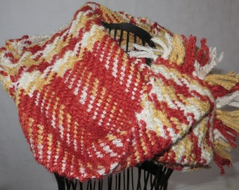 scarf, handwoven, infinity scarf, very tender,