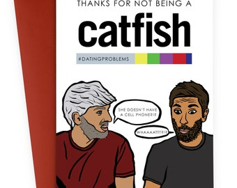 Valentines card - Catfish - Popculture - TV Series - Love
