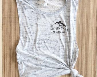 Mountains Tee Shirt - Hiking Shirt - Mountain Shirt Mountains Shirt - Camping Shirt - Nature Shirt - Mountains Calling