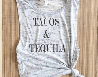 Tacos and Tequila Shirt in for Women tacos and tequila, tacos tequila shirt, tacos tequila T shirt, tacos tequila, tshirt, tequila tank top,