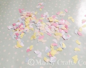 Baby Feet Mixed Table Confetti Baby Shower Embellishments Party Decorations Paper Craft Supplies