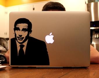 Michael Scott - Vinyl Decal for MacBook, iPad, or Laptop