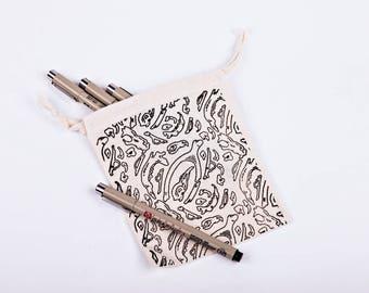 Mini Bones Print Bag
