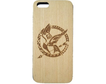 HUNGER GAME\ DOODLE  |||| Premium Engraved Real Wooden Phone Cases For iPhone 5/6/6s, Samsung S6edge/S7/S7edge