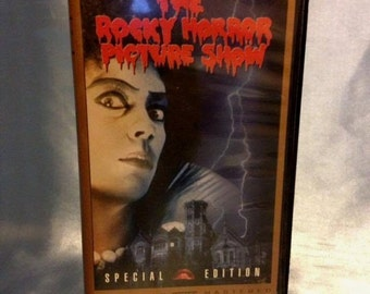 Rocky Horror Picture Show Widescreen VHS Special Edition From 1975!