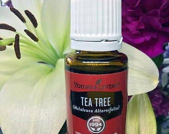 SUMMER SALE ~ Tea Tree Essential Oil by Young Living 15ml ~ Free Domestic Shipping