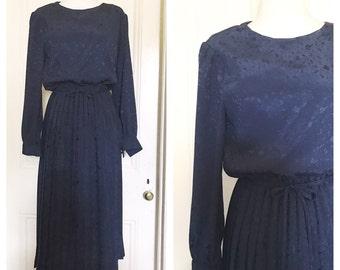 Vintage 70's Pleated Dress