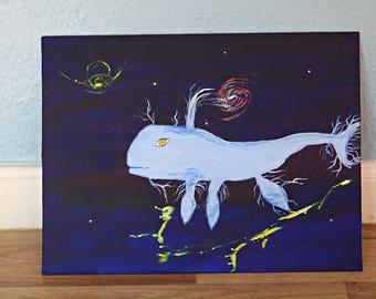 Blue whale Galactic table unique