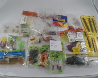 Rubber worms Lot #115