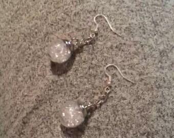 Snowglobe Bobble Earrings