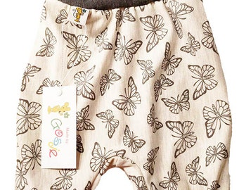 Harem Pants butterflies
