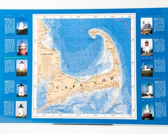Cape Cod Framed Poster - FREE SHIPPING