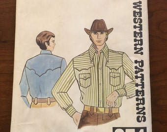 Rodeo Western Shirt Pattern - Never Been Used