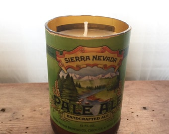 Beer Bottle Candle